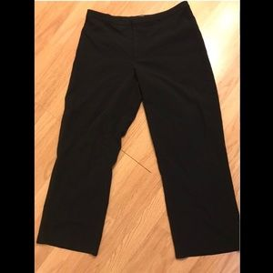 Old navy black trouser pant